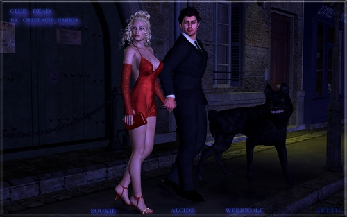 Sookie Stackhouse Series wallpaper containing a business suit, a suit, and a well dressed person called Alcide