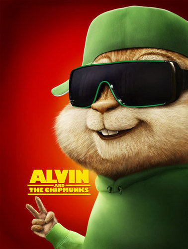 Alvin at mga tsipmank wolpeyper with sunglasses entitled Alvin and the Chipmunks, Theodore
