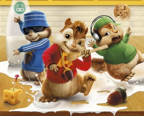 Alvin and the Chipmunks wallpaper called Alvin and the Chipmunks