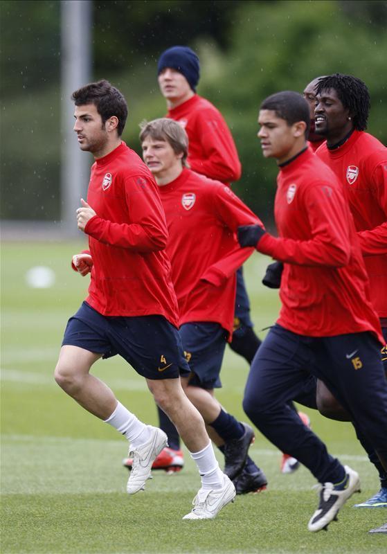 Arsenal Training Pics
