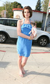 Ashley Greene out at Kitson - April 30 - twilight-series photo