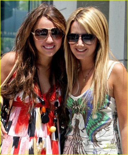 Ashley and Miley!
