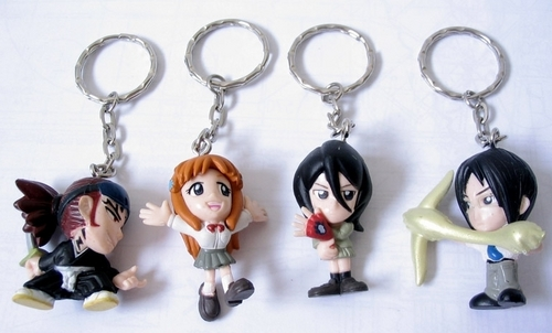 Bleach Keychain Set