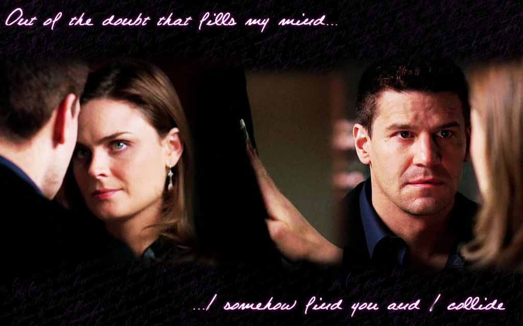 booth and bones. Booth amp; Brennan