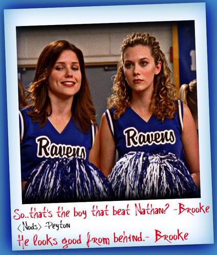 Brooke and Peyton