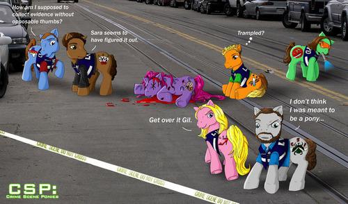 CRIME SCENE PONIES