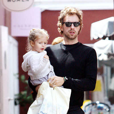 Chris Martin and your baby