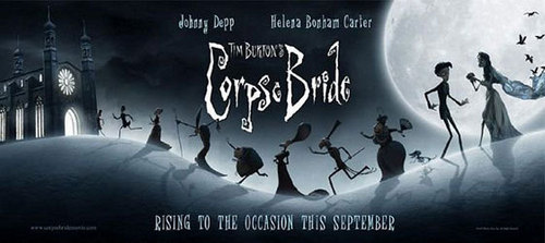 Corpse Bride wallpaper probably with a sign and anime called Corpse bride poster