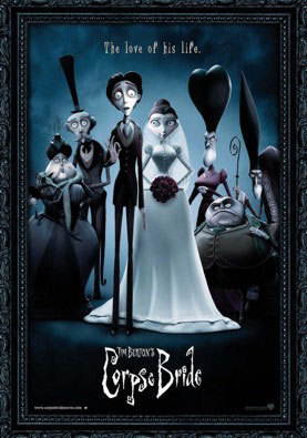 Corpse Bride wallpaper possibly with anime entitled Corpse bride poster