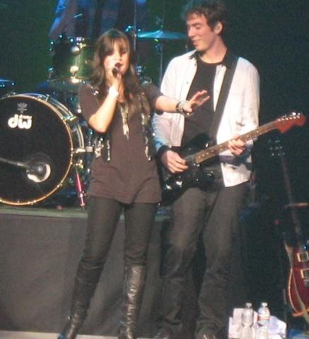 Demi at NOKIA Theater Grand Prairie, Texas - 4/28/09