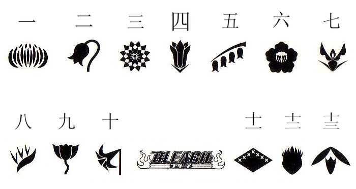 Bleach RP Images Division Symbols Wallpaper And Background Photos