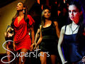 Superstars - dollhouse wallpaper