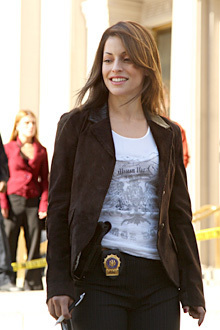 Emmanuelle Vaugier wallpaper containing a well dressed person and a business suit called Emmanuelle in CSI: NY
