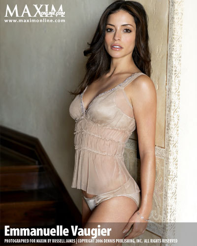 Emmanuelle Vaugier wallpaper titled Emmanuelle in Maxim