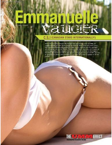 emmanuelle vaugier fondo de pantalla with a bikini, skin, and a portrait called Emmanuelle in UMM Canada