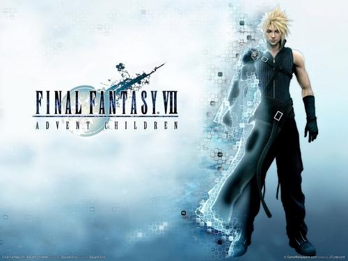 Final Fantasy Hintergrund titled FF7