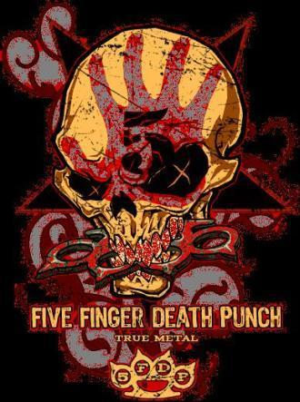 Five Finger Death punch, punzone wallpaper possibly with Anime called FFDP