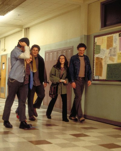Freaks and Geeks wallpaper probably with a well dressed person, a business suit, and long trousers entitled Freaks and geeks