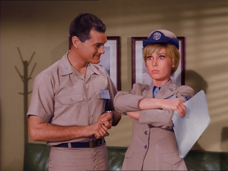 Jeannie is in the Air Force in this episode