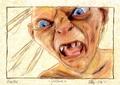 Gollum - smeagol-gollum fan art