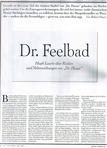 HL in Rolling Stone (Germany) Scans