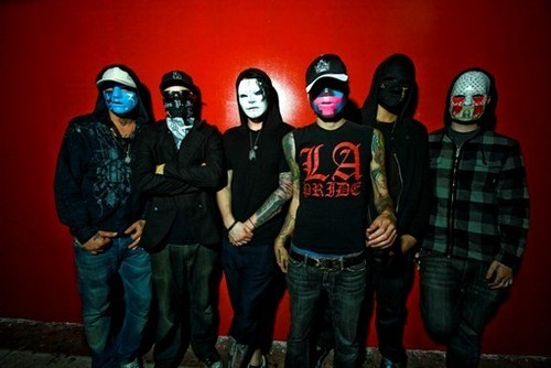 Hollywood Undead fond d'écran entitled HU