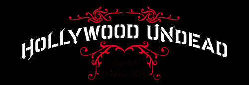 Hollywood Undead hình nền probably with a sign called HU