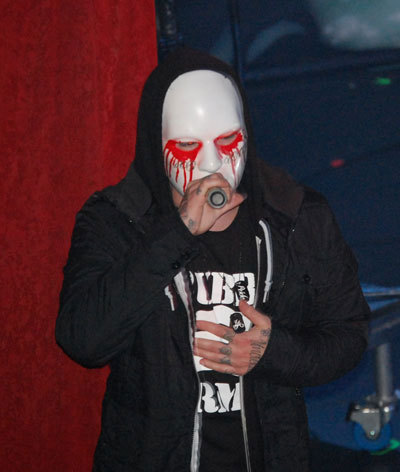 Hollywood Undead fond d'écran probably containing a ski mask entitled HU