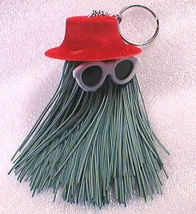 Keychains wolpeyper probably containing a walis entitled Hairy Thing Keychain