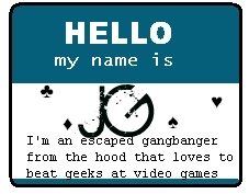 Hello my name is JG- For TDIlover226