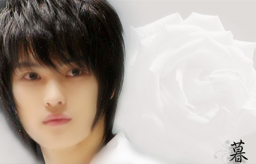 Hero Jae Joong Обои probably containing a bearskin and a portrait called Hero-JJ
