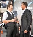 Hugh Jackman & Ryan Reynolds at LA Premiere
