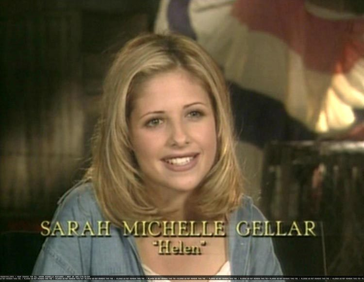 sarah michelle gellar in i know what you did last summer