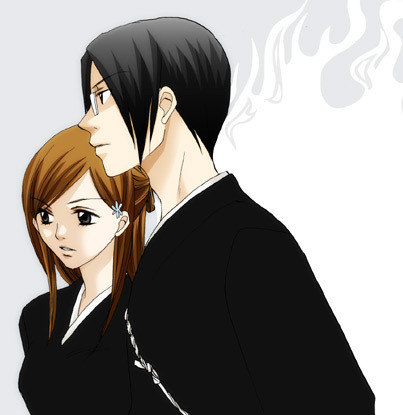 Ishida & Orihime fã Club wallpaper possibly with a well dressed person and an outerwear entitled IshiHime