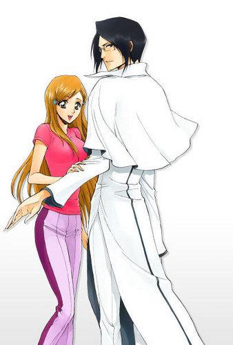 Ishida & Orihime fã Club wallpaper entitled IshiHime