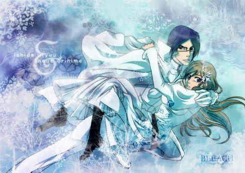 Ishida & Orihime fan Club wallpaper called Ishida x Orihime wallpaper