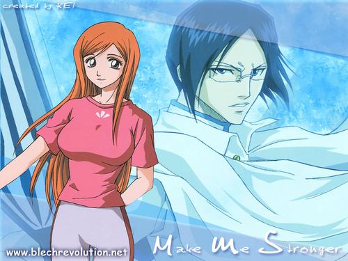 Ishida x Orihime Hintergrund