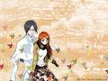 Ishida x Orihime wallpaper