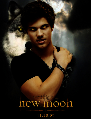 Twilight Series wallpaper called Jacob New Moon poster!