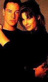 Keanu and Sandra