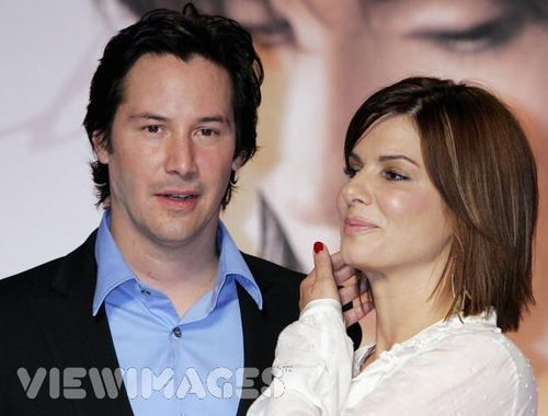 Keanu and Sandra