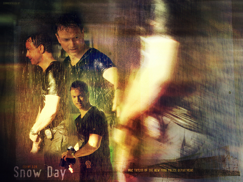 CSI:NY wallpaper with a concert, a fire, and a fountain titled Mac Taylor
