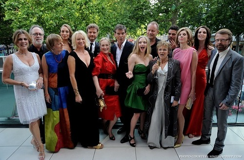 Mamma Mia! लंडन premiere