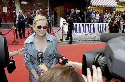 Mamma mia! Stockholm premiere