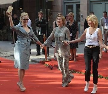 Meryl Streep images Mamma mia! Stockholm premiere wallpaper and background photos