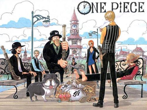 One Piece achtergrond with anime called One Piece