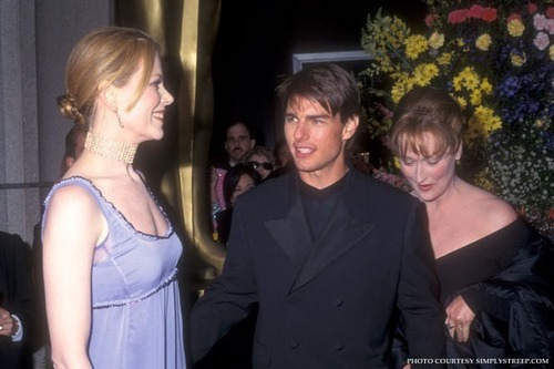 Oscar 1996 with Tom and Nicole