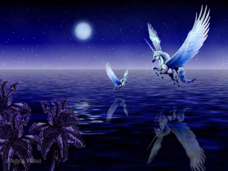 unicorn wallpapers. Pegasus Wallpaper - Unicorns