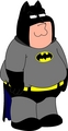 Peter Griffin as Batman