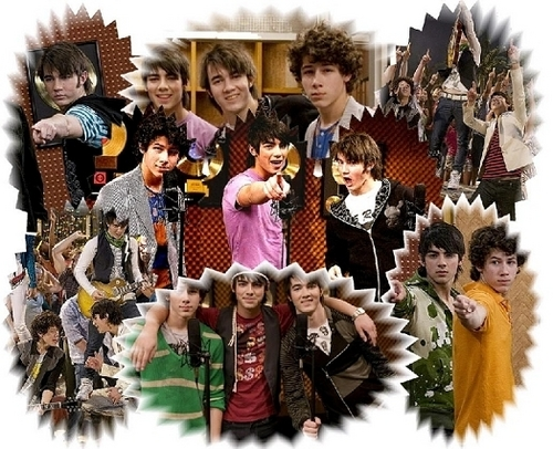 Picures of the guys on hannah montana
